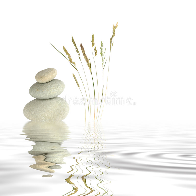 zen peace stock image image of stones calm nature relaxation 5430011. Black Bedroom Furniture Sets. Home Design Ideas