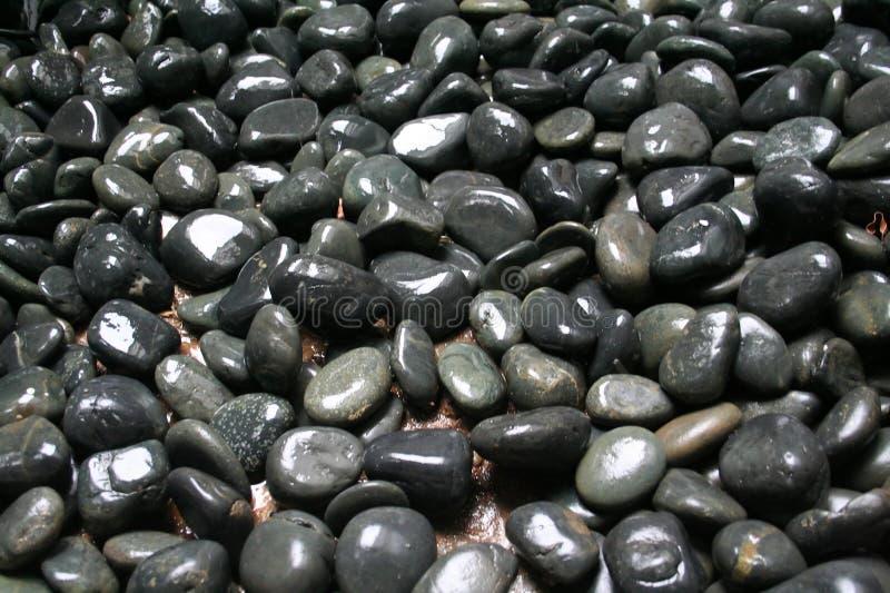 Zen pebbles stock photos
