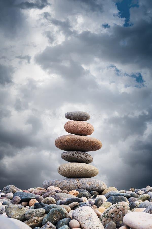 Zen Pebbles Sustainable Growth stock image