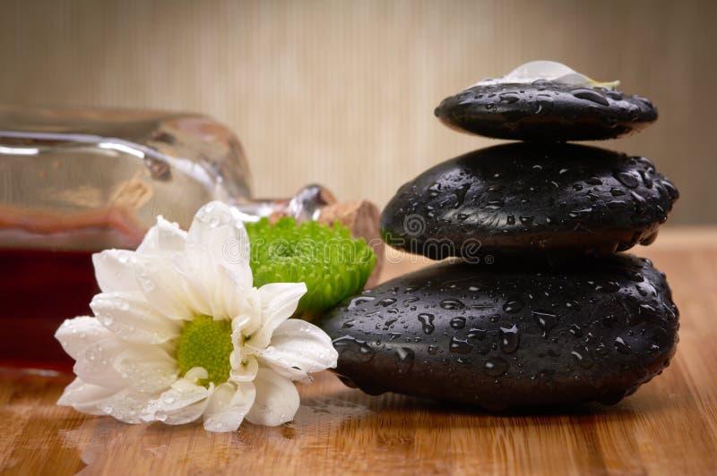 Zen, piedras del balance imagen de archivo