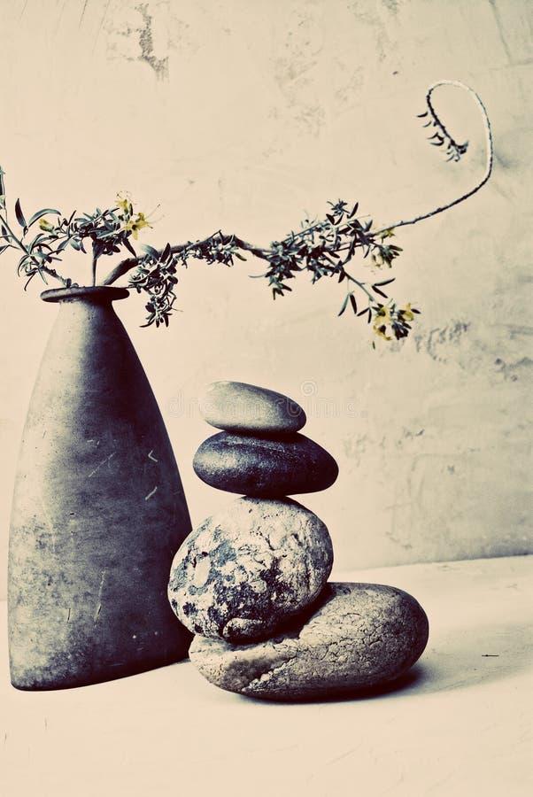 Zen Prosta sztuka równowaga obraz stock