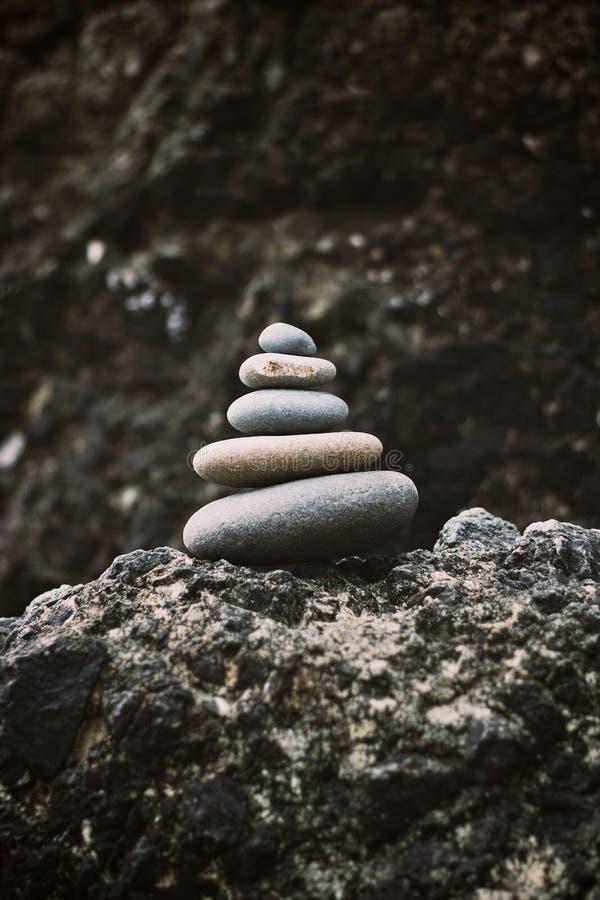 Zen Rocks imagen de archivo libre de regalías