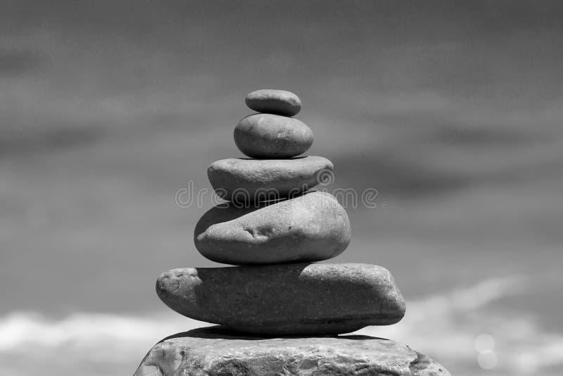 Zen Rocks stockbilder