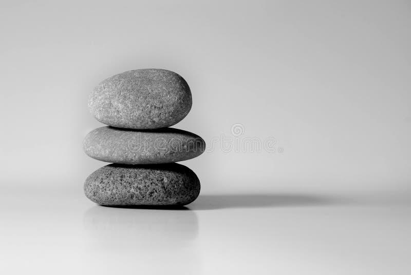 Zen Rocks Tranquility stock photos