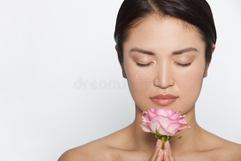 Zen Rosa foto de stock