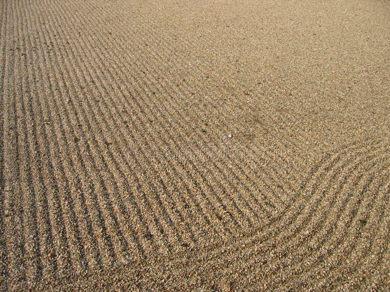 Zen-Sand 1 lizenzfreie stockfotografie