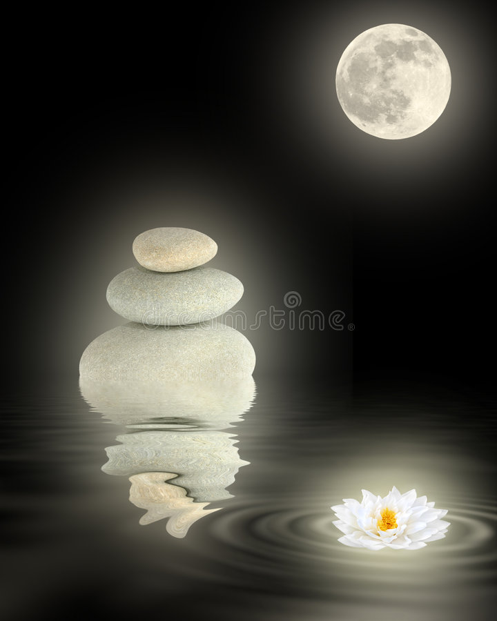 Zen-Schönheit lizenzfreies stockfoto