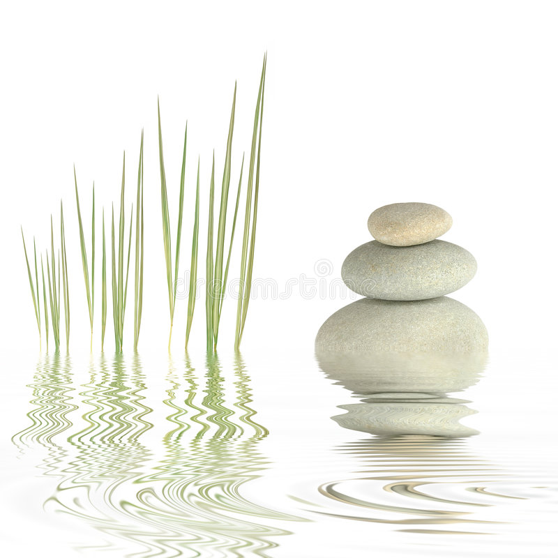 Download Zen Simplicity stock image. Image of balance, beauty, copy - 6589331