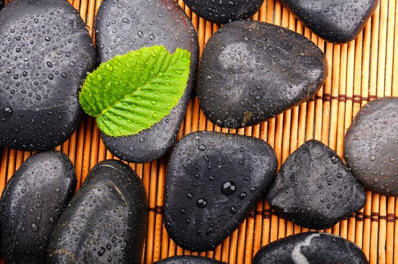Download Zen or spa stones stock photo. Image of healthy, lifestyle - 15457406