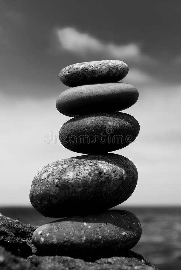 Zen Stack royalty free stock photography
