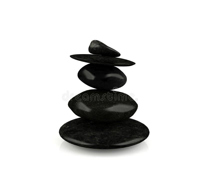 Zen Stone photos libres de droits