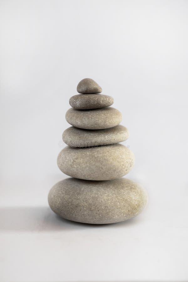 Download Zen stone tower stock photo. Image of green, inner, scene - 26872062