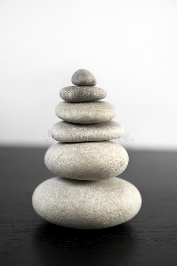 Download Zen Stone Tower In Equilibrium Stock Photo - Image: 26871900