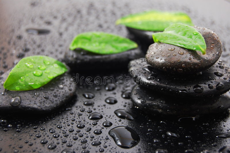 Zen stone wellness concept royalty free stock image