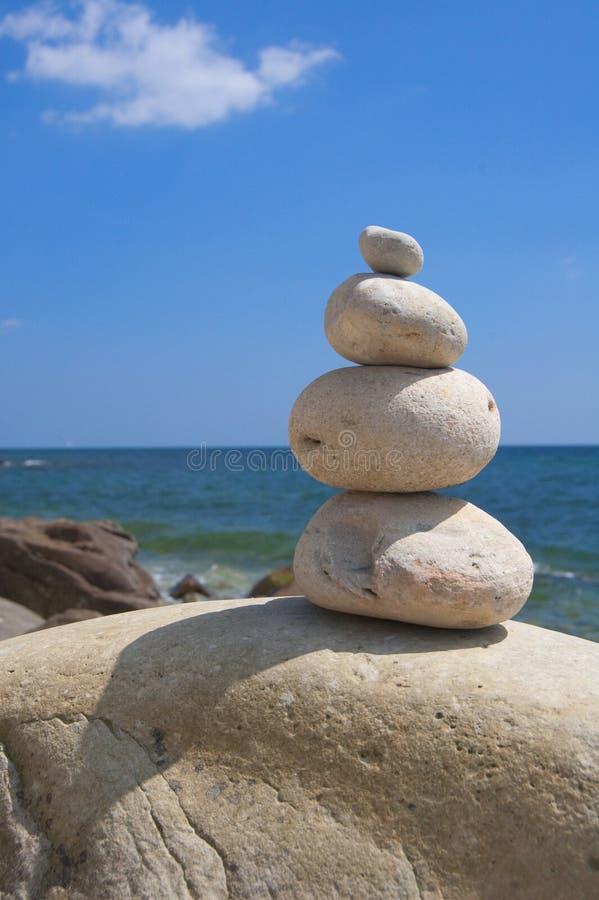 Download Zen Stones stock image. Image of rocks, ocean, balance - 14856393