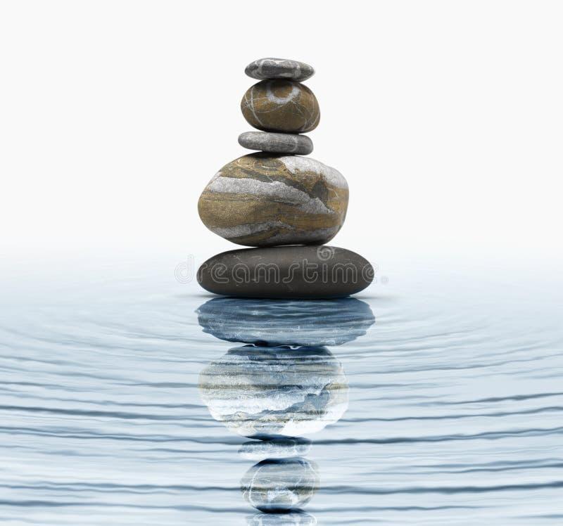 Download Zen stones stock image. Image of mind, mantra, beauty - 19989011
