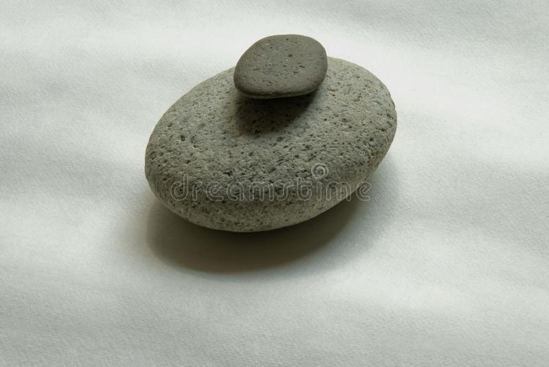 Zen Stones lizenzfreies stockbild