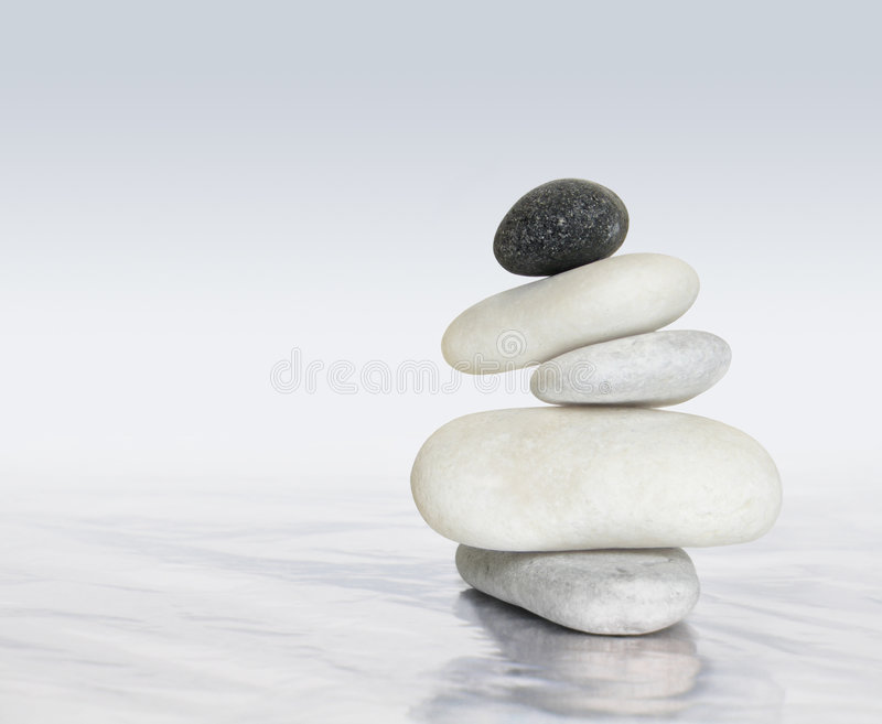 Zen stones balance royalty free stock photo
