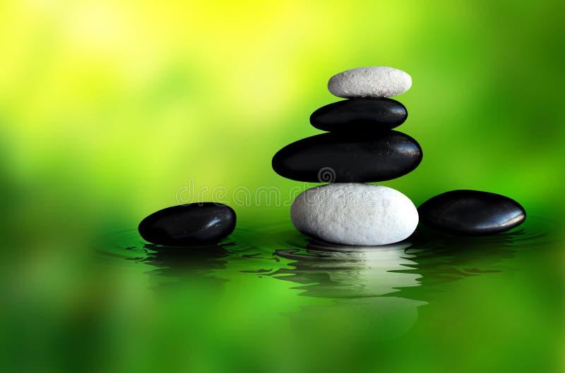 Zen Stones Setting stock photos