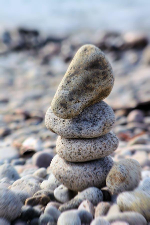 Zen-Strand lizenzfreie stockbilder