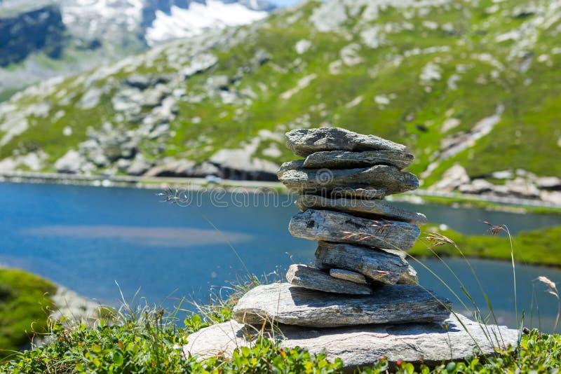 Zen Style Stones stock afbeeldingen
