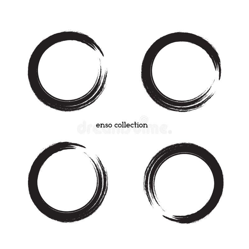 Zen Symbol Set vector illustration