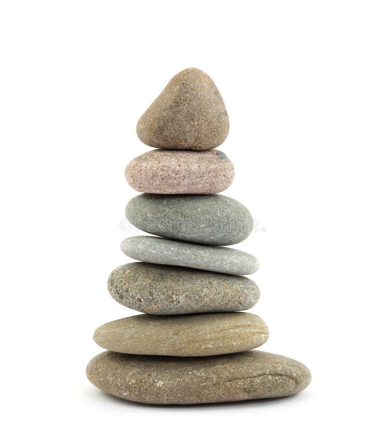Zen therapy stones stock photography