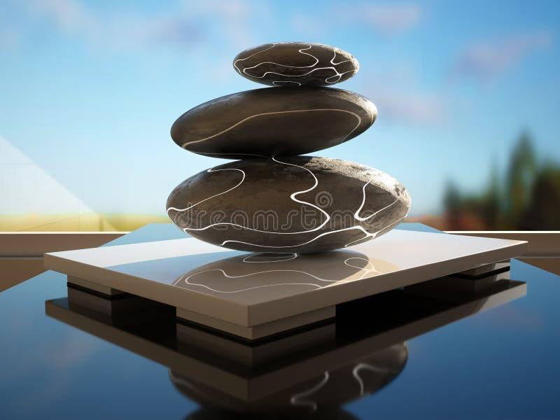Zen royalty free illustration