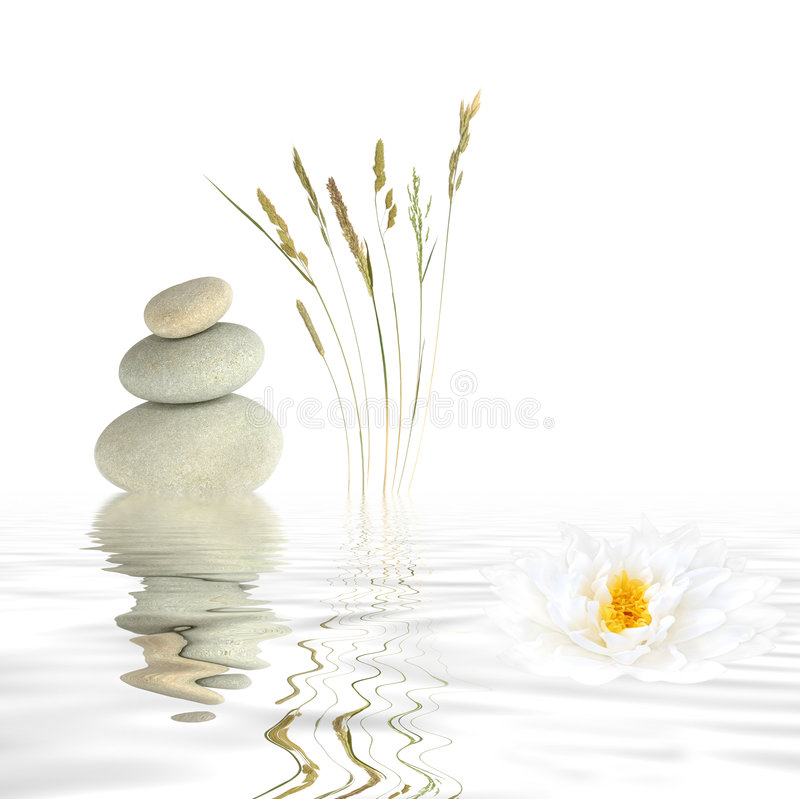 Zen Tranquility royalty free stock photos