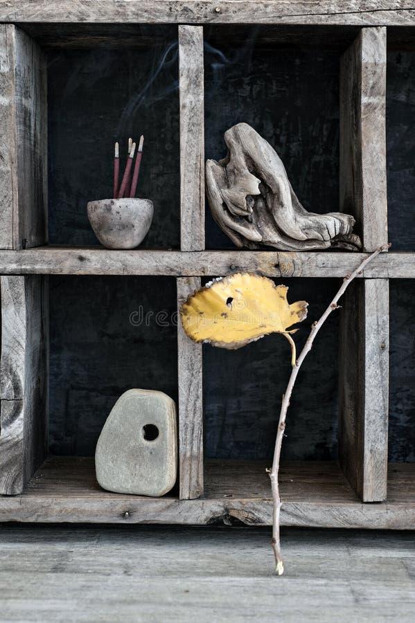Zen umysłu medytacji skład zdjęcie stock