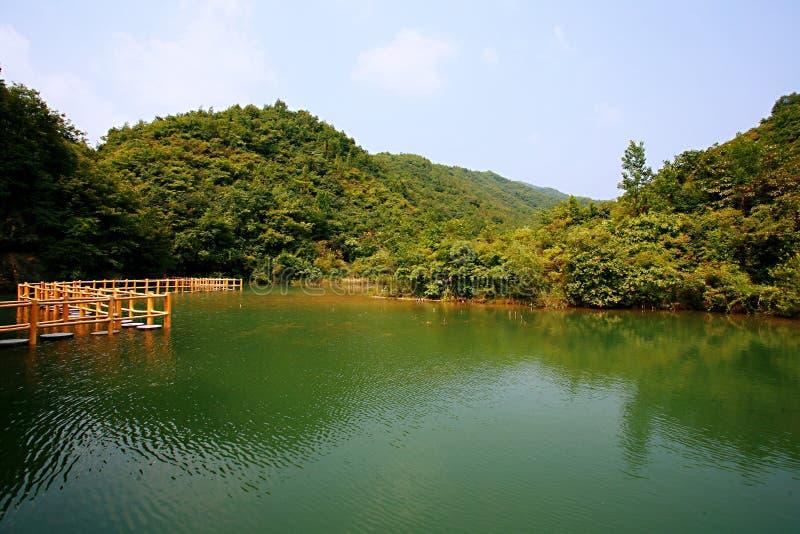 Zen Valley stock afbeelding