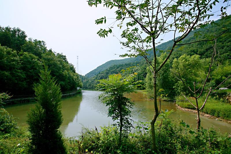 Zen Valley royalty-vrije stock afbeeldingen
