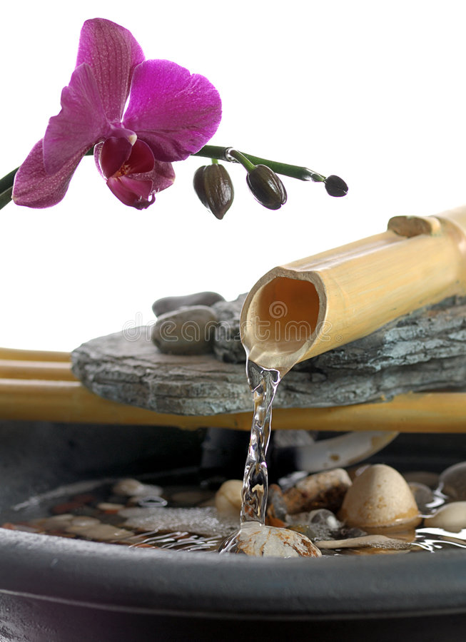 Zen-Wasser stockbilder