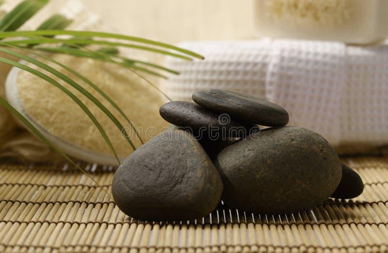 Zen zdrój i zdjęcie stock