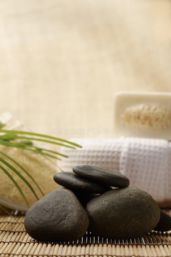 Zen zdrój i zdjęcie royalty free