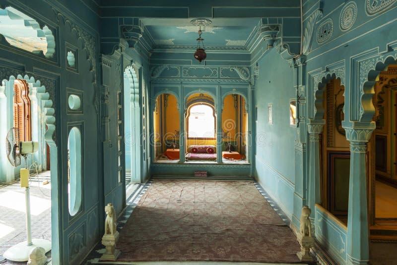 Zenana Mahal oder die Kammern der Königin, Stadt-Palast, Udaipur, Rajasthan, Indien stockfotografie