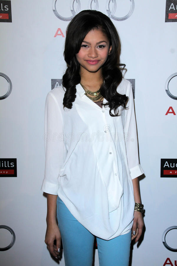 Download Zendaya At The Grand Opening Of The Audi Beverly Hills Dealership, Audi Beverly Hills, Beverly Hills, CA 03-08-12 Editorial Image - Image: 23865200