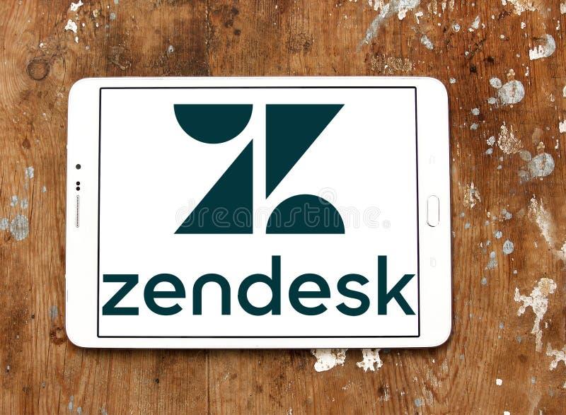 Zendesk firmy logo obraz royalty free