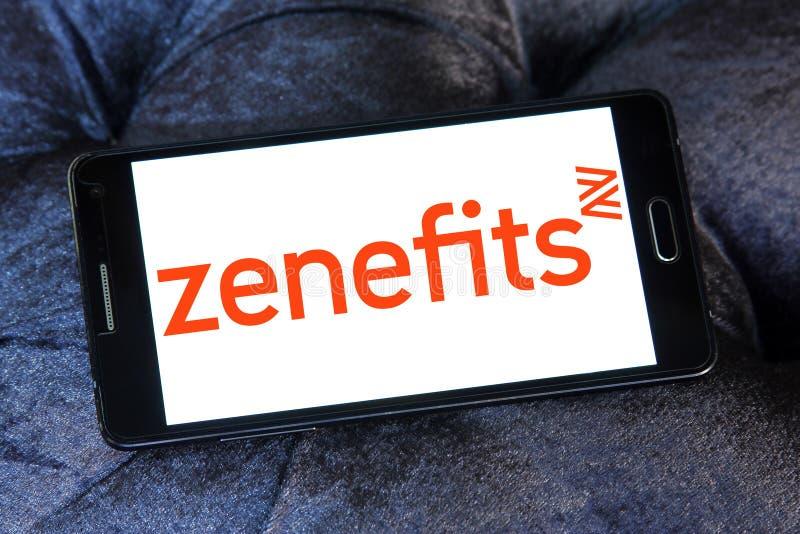Zenefits företagslogo arkivfoto