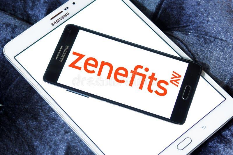 Zenefits företagslogo arkivfoton