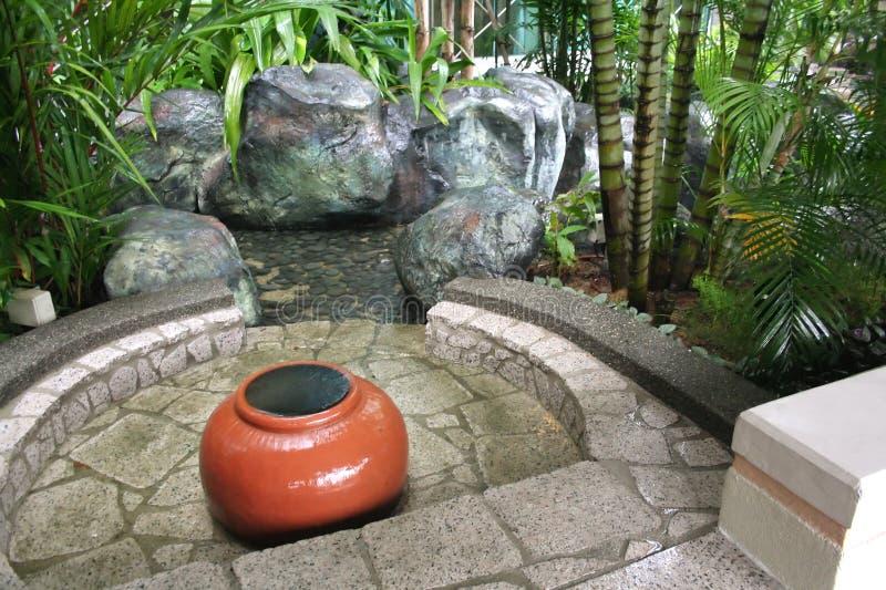 Zengarten stockbild