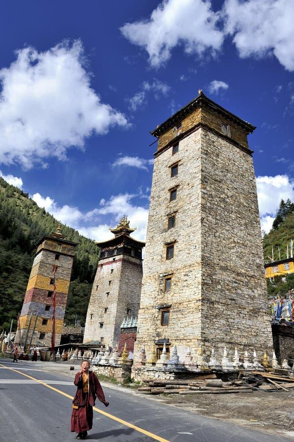 Zengke Monastery Editorial Photography