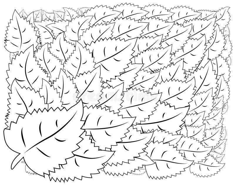 zentangl da ilustração Quadro da flor para a foto Livro de coloração Antistress para adultos e crianças Rebecca 36 ilustração stock