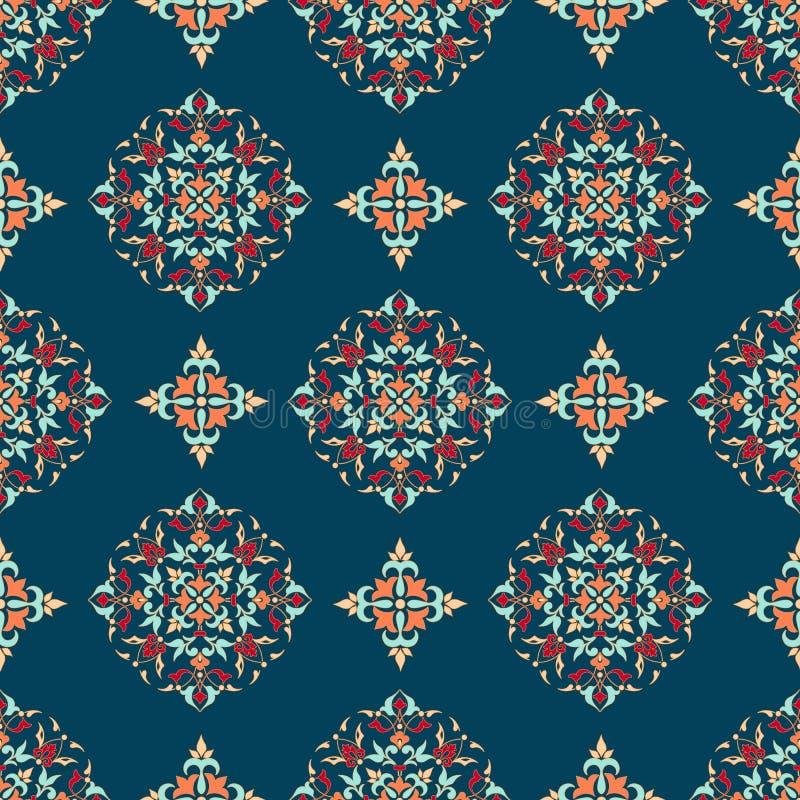 Zentangle称呼了几何装饰品样式背景 东方传统装饰品 Boho称呼了 皇族释放例证