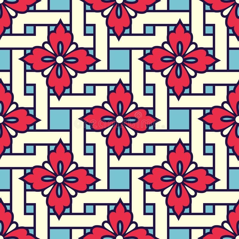 Zentangle a dénommé le fond géométrique de modèle d'ornement Ornement traditionnel de l'Orient Boho a dénommé illustration stock