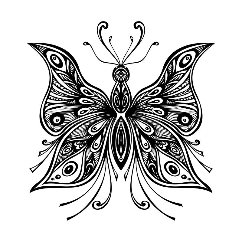 zentangle lace butterfly tattoo coloring page zentangle lace butterfly black white tattoo coloring page
