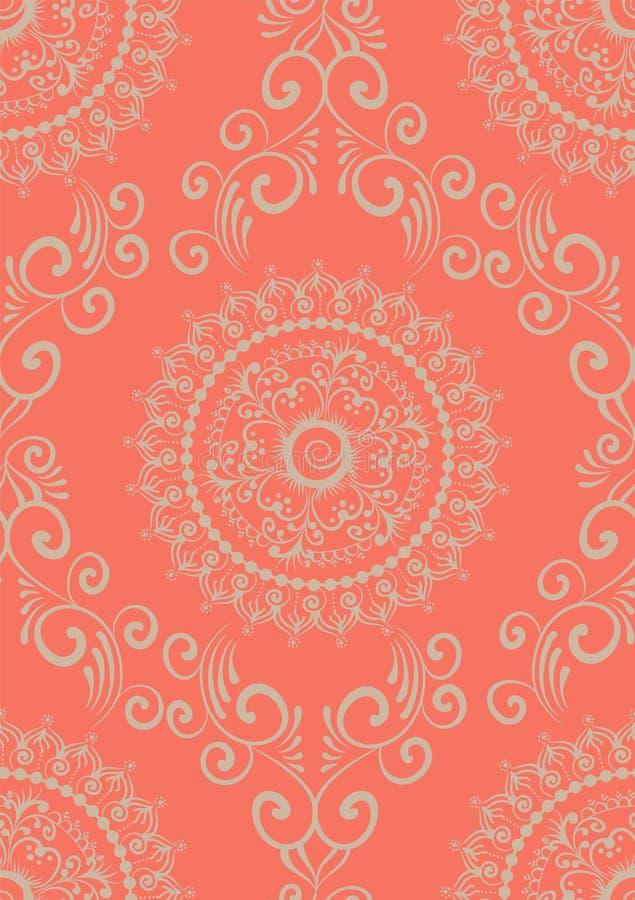 Zentangle utformade den geometriska prydnadmodellbeståndsdelen Orient traditionell prydnad Boho utformade vektor illustrationer