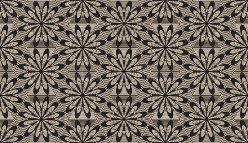 Zentangle utformade geometrisk prydnadmodellbakgrund Orient traditionell prydnad Boho utformade vektor illustrationer