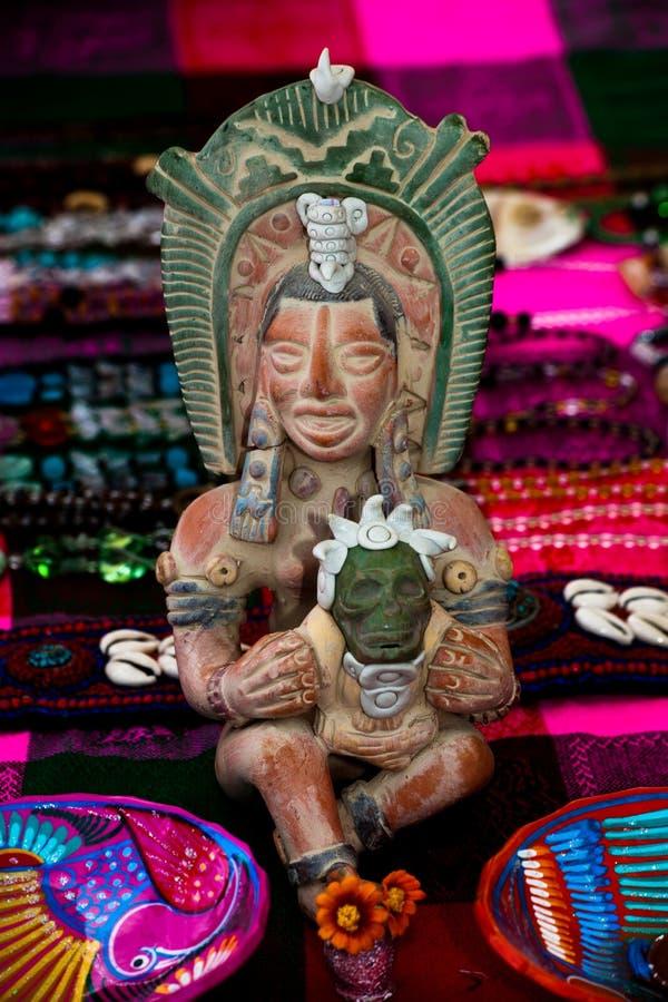 Zentralamerikanische Kunst stockbild