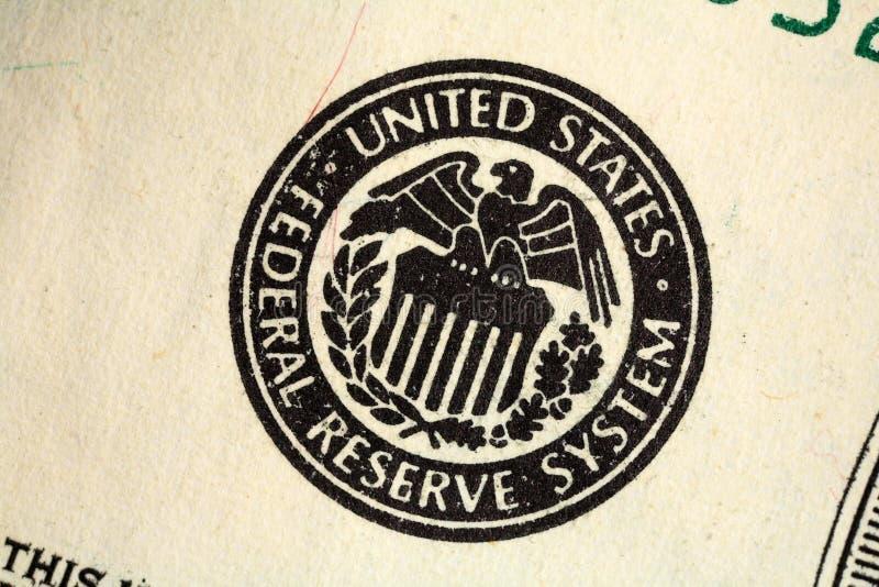Zentralbankdichtung stockfotografie